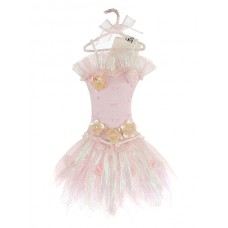 Pink Tutu Christmas Decoration