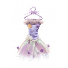 Purple Tutu Christmas Decoration