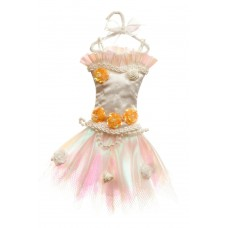 White Tutu Christmas Decoration