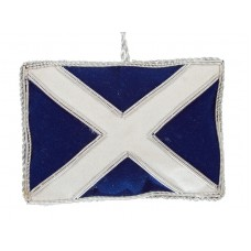 Scottish Flag / Saltire  Christmas Ornament