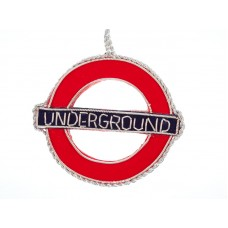 London Underground / Underground  Christmas Ornament