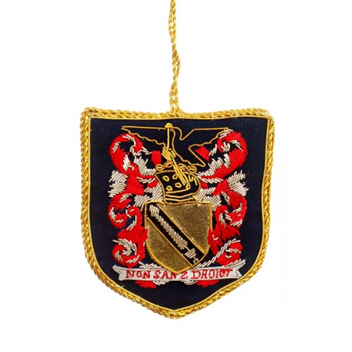 Shakespeare Coat of Arms Christmas Ornament