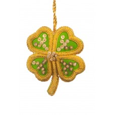 Four Leaf Clover Christmas Ornament