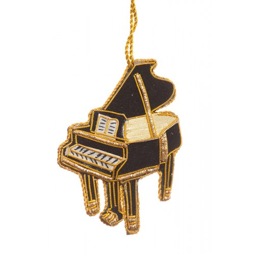Grand Piano Christmas Tree Decoration