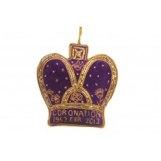 Purple Coronation Crown