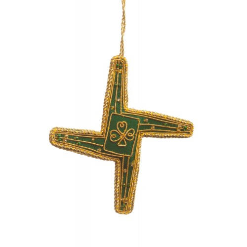 St Brigid's Cross Christmas Tree Ornament