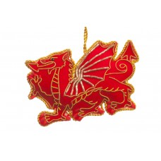 Welsh Dragon Christmas Tree Decoration