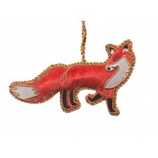 Velvet Fox Decoration