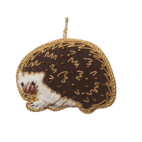 Hedgehog Christmas Decoration