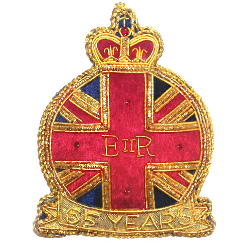 Sapphire Jubilee Commemorative Decoration