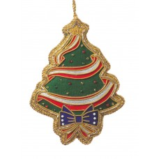 USA Christmas Tree Christmas Ornament