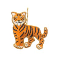 Tiger Christmas Decoration