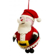 Felt Santa Christmas Decoration
