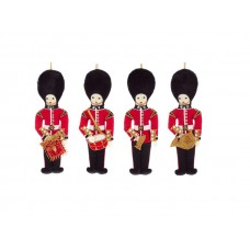 Bandsman Set of Christmas Decorations