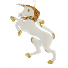 Heraldic Unicorn Christmas Tree Ornament