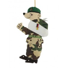 Marine Bear Christmas Decoration