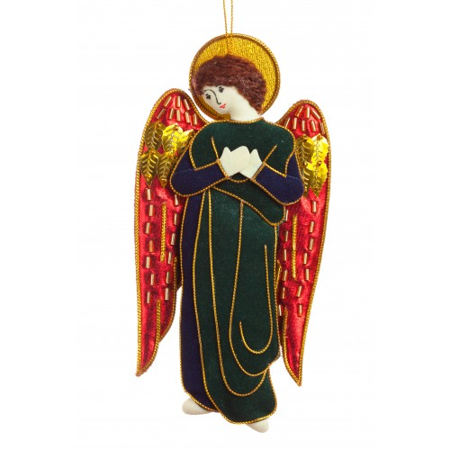Traquair Angel Christmas Tree Ornament