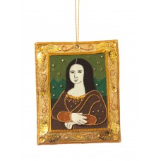 Mona Lisa Christmas Decoration