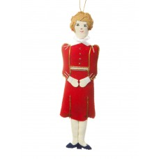 First Lady Nancy Reagan Christmas Ornament