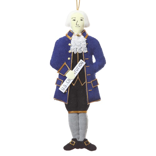 President James Madison Christmas Ornament