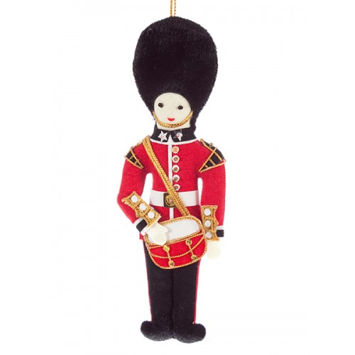 Bandsman with Drum Christmas Ornament