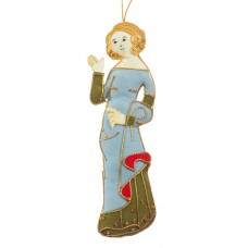 Medieval Princess Christmas Tree Ornament