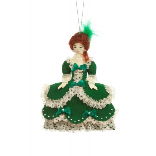 Madame de Pompadour Christmas Tree Decoration