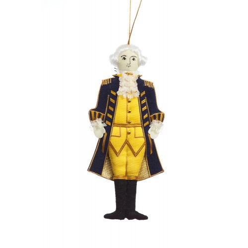 President George Washington Christmas Ornament