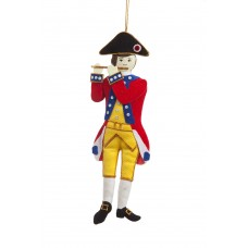 American Revolutionary Fife Christmas Ornament