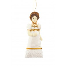 Jane Austen's Elizabeth Bennet Christmas Tree Decoration