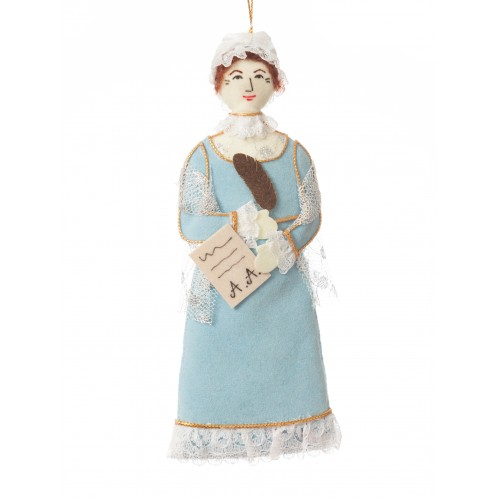 Abigail Adams Christmas Ornamant
