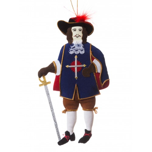 Musketeer Christmas Decoration