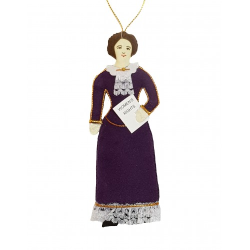 Susan B Anthony Christmas Ornament