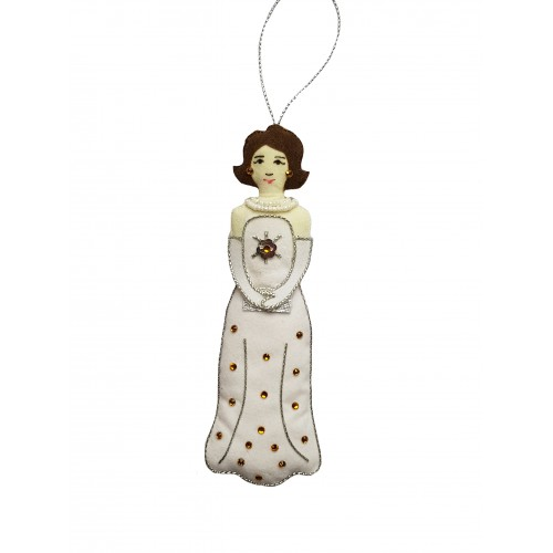 Gala Jackie Kennedy Christmas Ornament
