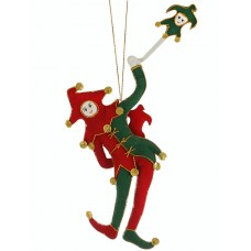 Stratford Jester Christmas Tree Decoration