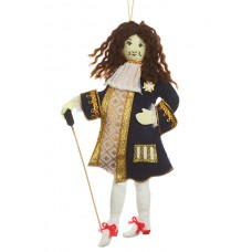 King Louis XIV of France Christmas Ornament