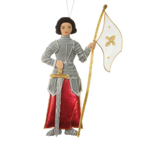 Joan of Arc Christmas Tree Decoration