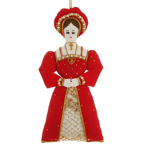 Katherine of Aragon Tudor Christmas Ornament