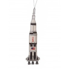 Rocket Christmas Decoration