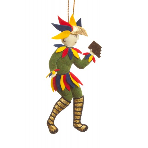 Mozart's Papageno Christmas Tree Ornament