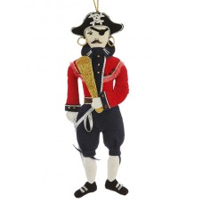 Pirate Nautical Christmas Ornament