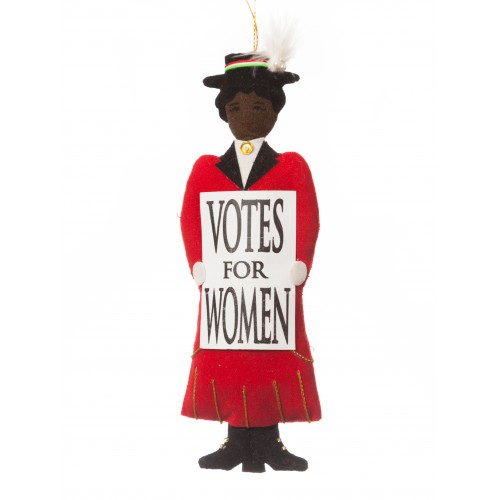 Votes for Women Suffragette Christmas Tree Decoration
