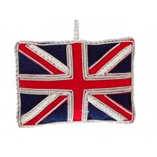 Union Jack Flag  Christmas Ornament