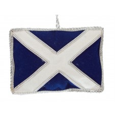 Scottish Flag Christmas Ornament