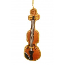 Violin  Christmas Decoration