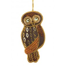 Tawny Owl Christmas Tree Decoration