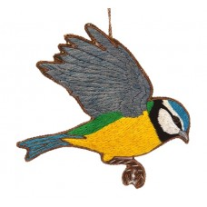 Blue Tit  Christmas Decoration