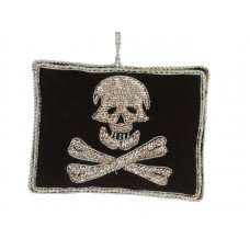 Pirate Flag  Nautical Christmas Ornament