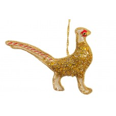 Jewel Pheasant Christmas Tree Decoration