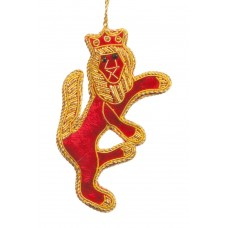 Rampant Lion Christmas Decoration